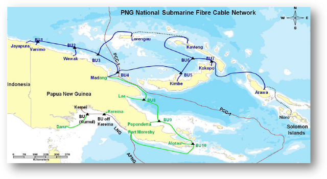 Huawei Marine Helps Papua New Guinea Build a National Broadband
