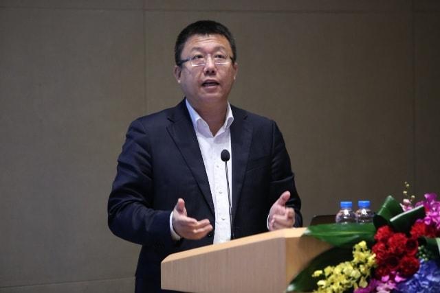 华为全球技术服务部总裁   鲁勇
