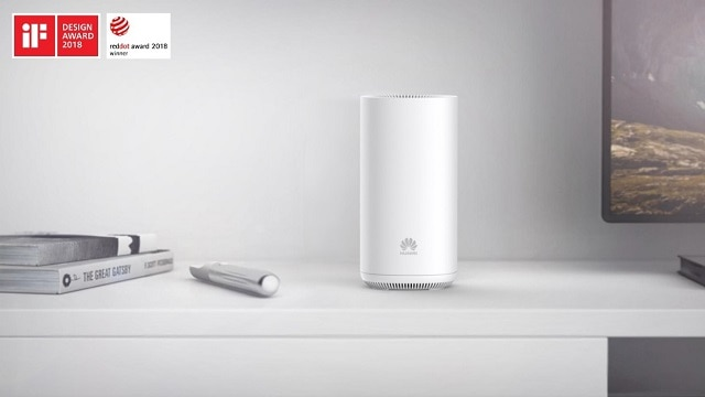 Huawei's SmartWi-Fi tri-band AP won the Red Dot Award and the iF Product Design Award
