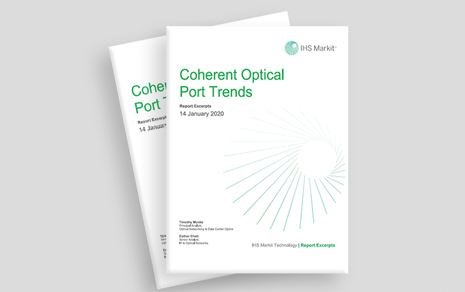 Coherent Optical Port Trends IHSM 2019