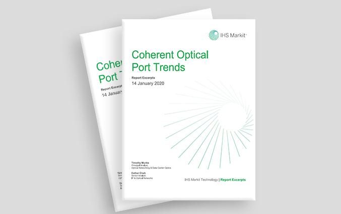 Coherent Optical Port Trends IHSM 2019