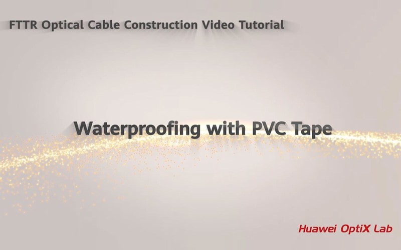 waterproofing with pvc tape
