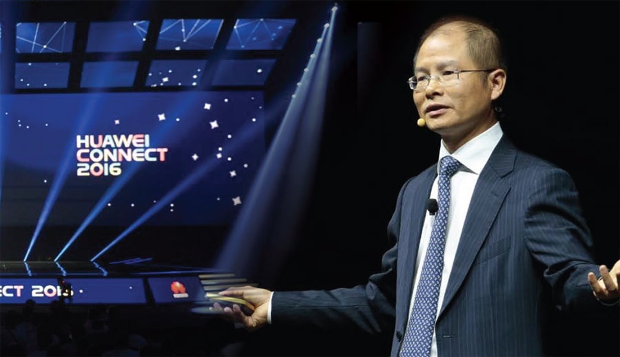 Huawei Rotating CEO Eric Xu on enabling telco transformation