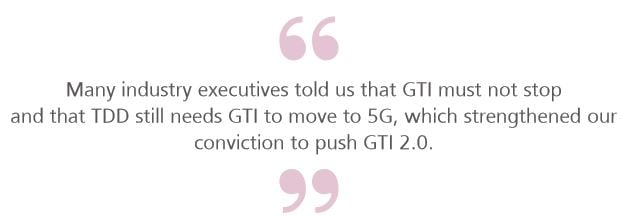 GTI: TDD/FDD convergence paves the way for future mobile broadband
