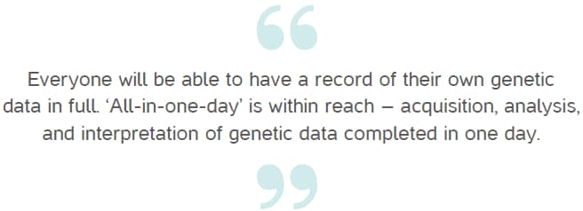 Genes Can Have Up To 80 Percent >> Mgi The Power Of Ai And Genetic Sequencing Huawei South Africa
