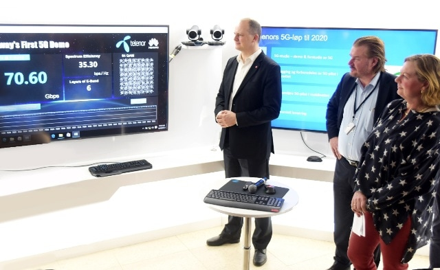 Telenor and Huawei Jointly Announce First 5G Demo in Norway - huawei