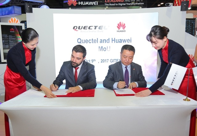 Huawei Partners with Nextek and Quectel to Drive IoT
