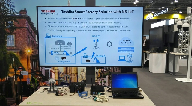 Huawei And Toshiba Digital Solutions Showcase The First Nb
