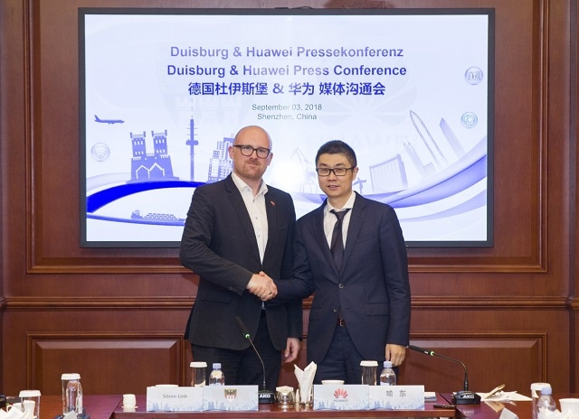 Huawei Deepens Cooperation with Duisburg to Transform Germany's Industrial Heartland into a Smart City