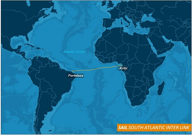 South Atlantic Inter Link Connecting Cameroon to Brazil