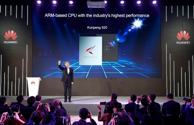 Huawei Unveils Industry's Highest-Performance ARM-based CPU - Huawei