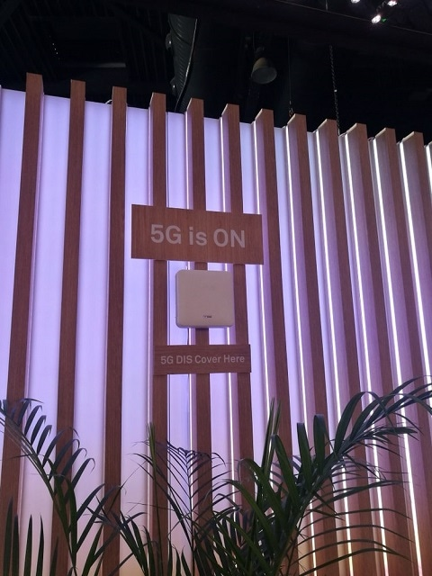 Has Deployed And Demonstrated The 5G DIS Indoor Coverage Network With Commercial Terminals During World Mobile Congress Which Means That