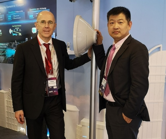 """Huawei Release Simplified """"1+2"""" 5G Microwave Architecture"""