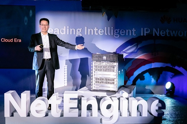 Huawei Launches Industry's First Intelligent Metro Router for the 5G and Cloud Era: the NetEngine 8000 Series