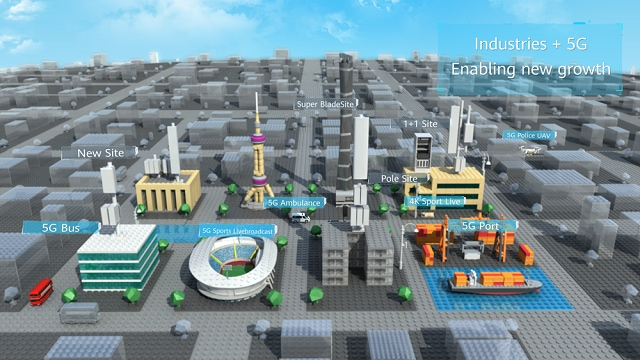 Ryan Ding from Huawei: Industries + 5G, Enabling New Growth - Huawei
