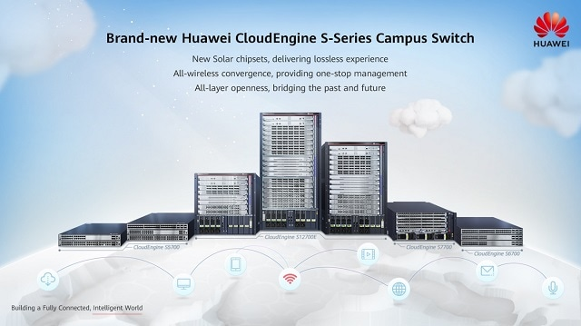 Huawei Launches The All New Cloudengine S Series Campus