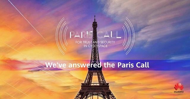 Huawei Bergabung dengan Paris Call for Trust, Security in Cyberspace 1