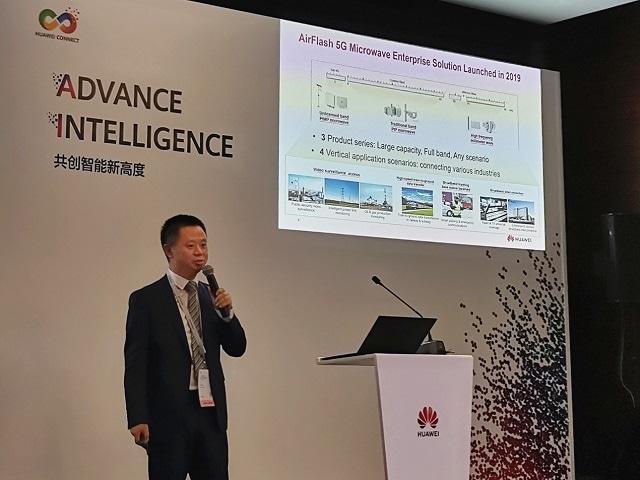Huawei запускает решение AirFlash 5G для микроволновой связи для предприятий, обеспечивающее эффективные связи в отрасли