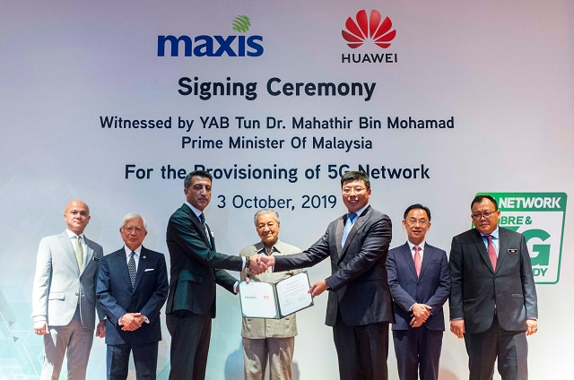 Maxis forges ahead in 5G race with landmark network agreement with Huawei