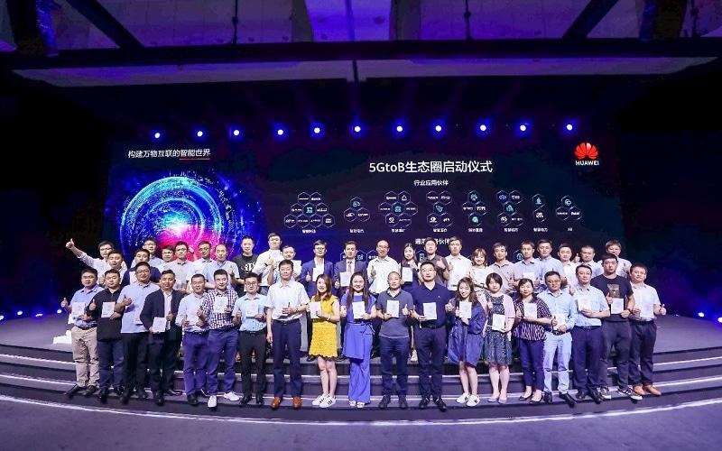 Launch ceremony 5GtoB ecosystem