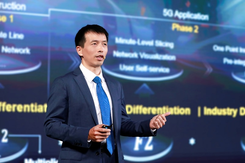 Peng Song delivers a keynote