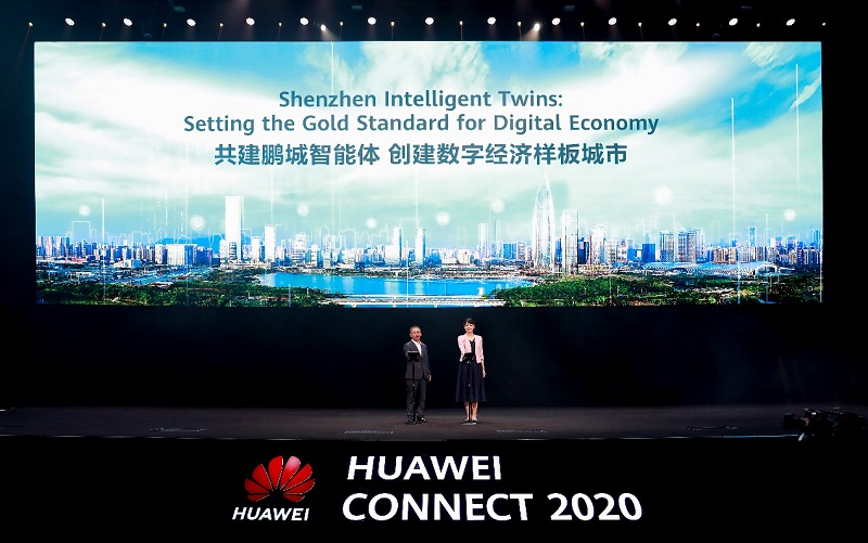 announced the Shenzhen Intelligent Twins
