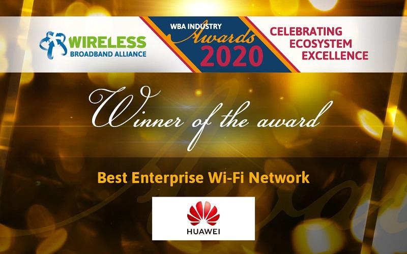 Best Enterprise Wi-Fi Network Award
