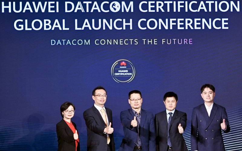 Huawei Datacom Certification Global Launch Conference