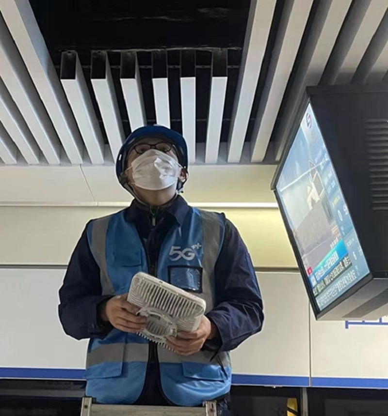 China Mobile Suzhou Deploys 5G LampSite
