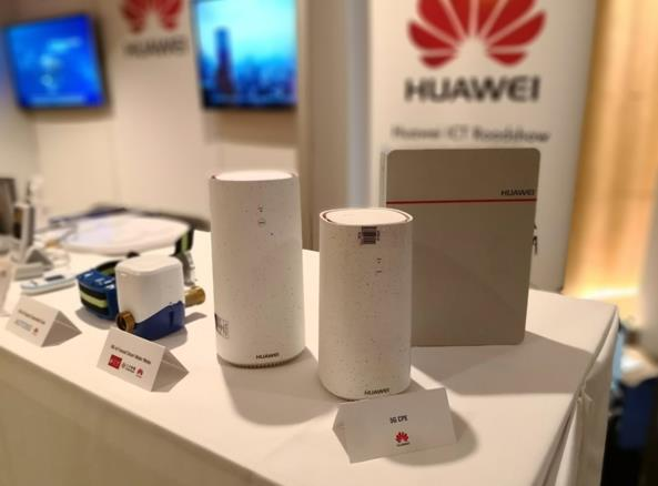 Huawei Releases First 5G CPE
