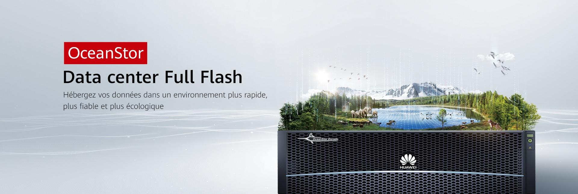 oceanstor full flash dc france pc