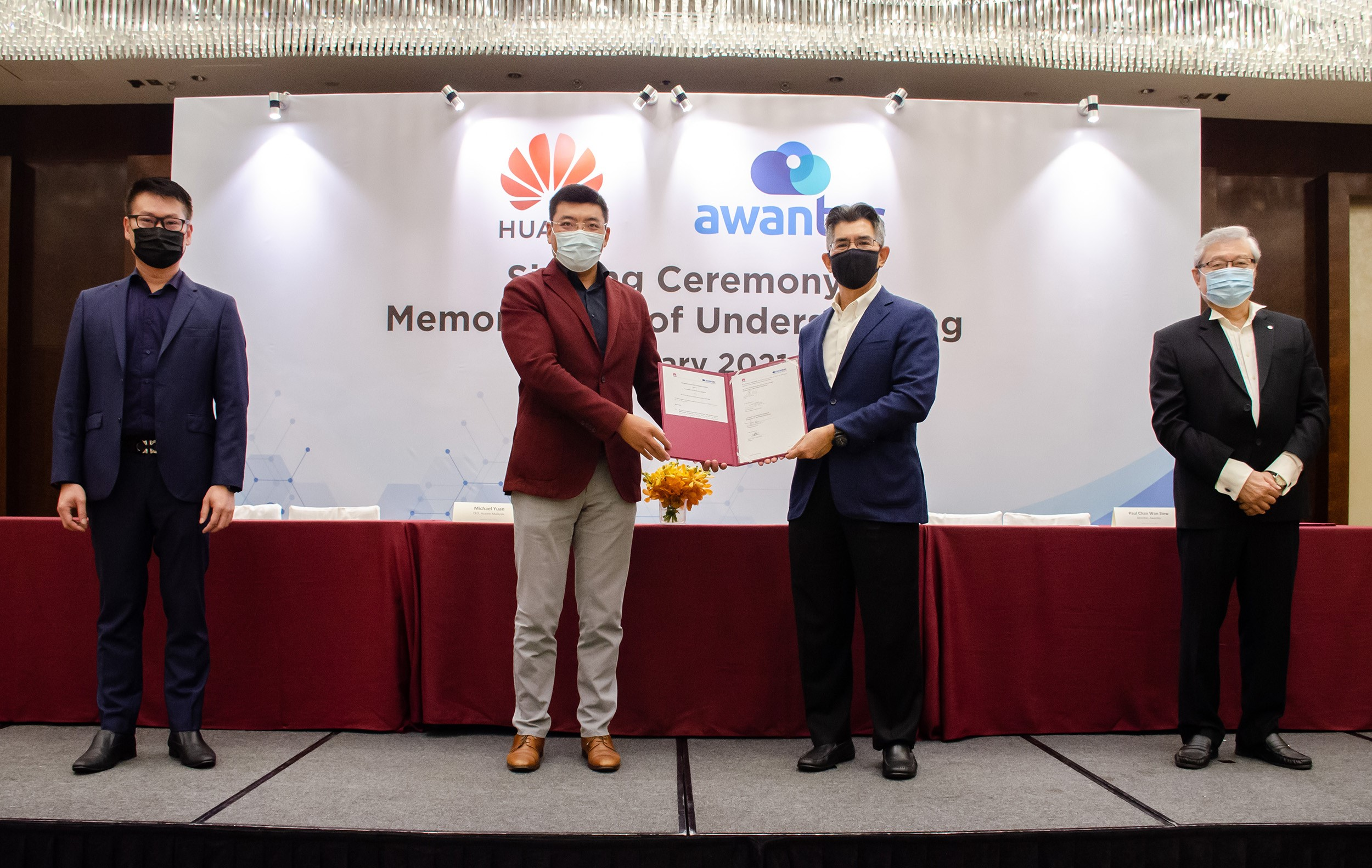 Huawei Awantec Enter Partnership Drive Digitalisation of Malaysia Public Sector