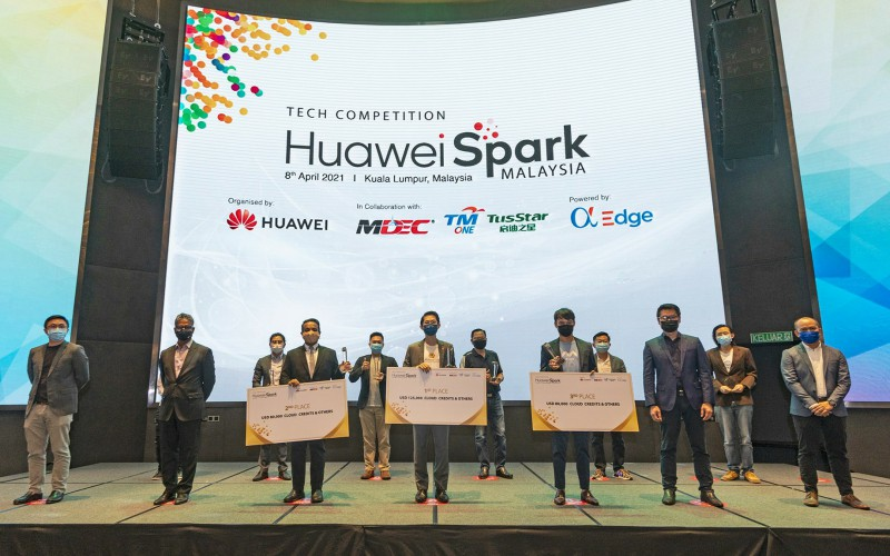 top winners announced first huawei spark malaysia index