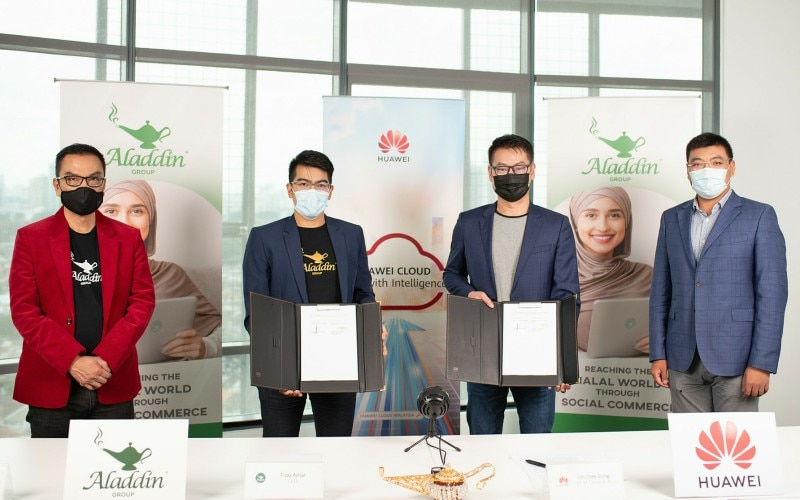 Aladdin Group and Huawei Malaysia Enter Tech Partnership to Develop Global index