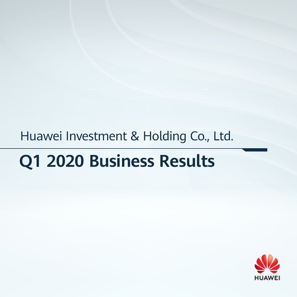 2020 Q1 business results