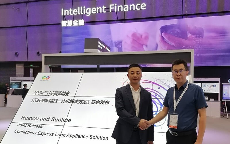 huawei and sunline jointly launch solution preview