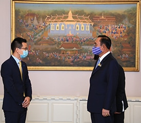 1 Thailand Prime Minister met with Huawei Thailand CEO